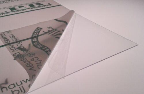 Sottile Plastica Petg Foglio Ideale Per Modello Making X 5 Pack Bambole Casa