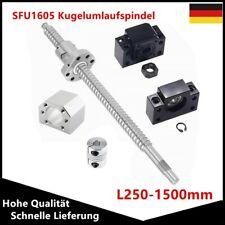 Kugelumlaufspindel SFU2505-1600MM RM2505-1800MM Mit BK20 /& BF20 Unterstützung