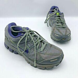 ebf45e56245a Nike Pegasus 27 GTX Women Gray Purple Gore Tex Running Shoe Size 8 ...