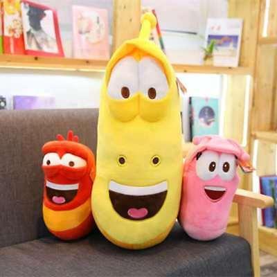3PC Korea hilarious insect Larva Farting Larva Plush Toys birthday gift 25-20CM