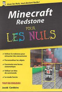 Details Sur Minecraft Redstone Pour Les Nuls Livre Jeu