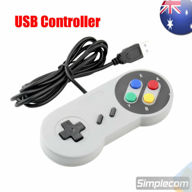 Classic SNES SFC Style Retro Game USB Controller Gamepad Joystick Joypad For PC