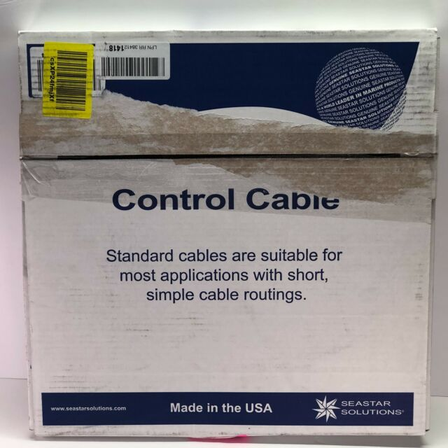 11 FT THROTTLE//SHIFT USED TELEFLEX CC21011 CONTROL CABLE
