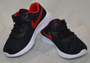 34d6e64a Details about Nike Tanjun (TDV) Black/Red/White Toddler Boy's Shoes - Size  5/6/7/8/9/10C NWB