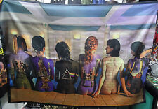 PINK FLOYD Back Catalogue Girls Bodypainting FLAG POSTER TAPESTRY BANNER CD