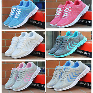 Image is loading Women-039-s-Running-Shoes-Gauze-Breathable-Ultra-