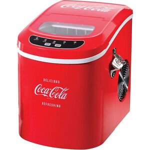 Haier Countertop Ice Maker Reviews : Coca-Cola-Series-26-Lb-Day-Countertop-Ice-Maker-Portable-Coke-IceCube ...