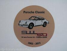 Porsche Classic 50 Jahre 911 Aufkleber Sticker,G-Modell 911 964 993 996 997 991