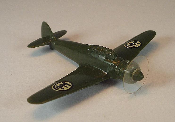 Wiking Grope Plane 1 200  I 3 Breda ba65 Dark Green  267