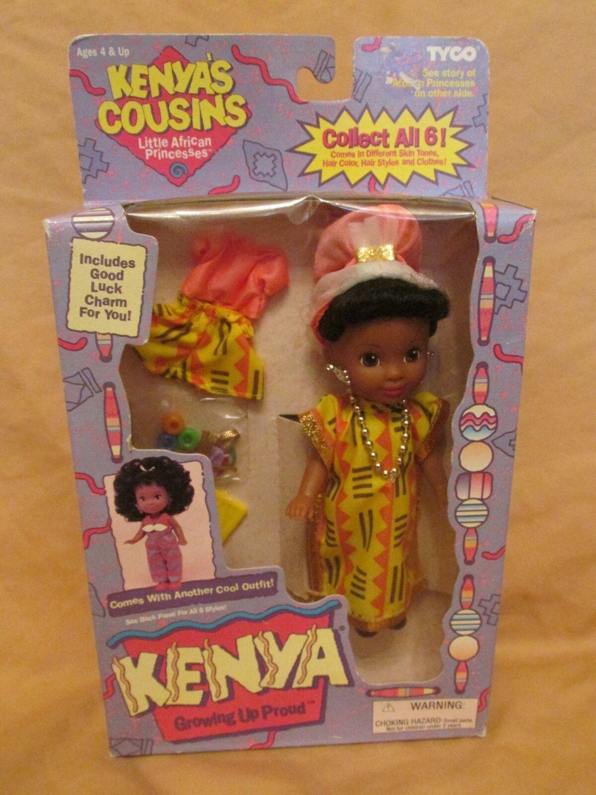 Brandneu Vintage Kenia S Cousins Anbauen Up Proud Afrikanisch Prinzessin Tyco