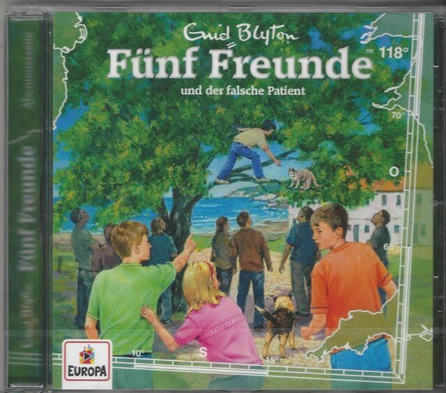 Hörspiel CD: Fünf Freunde und der falsche Patient (118) - original verpackt