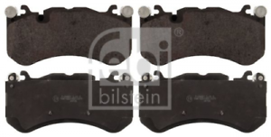 Febi 116141 Bremsbelagsatz Scheibenbremse Bremsbeläge Bremsklötze