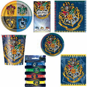 Harry Potter Party ware Range Plates Napkins Cups etc NEW eBay
