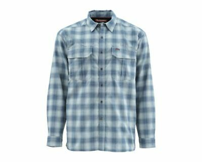 Closeout Size XL Simms Morada Long Sleeve  Shirt-Dune Plaid