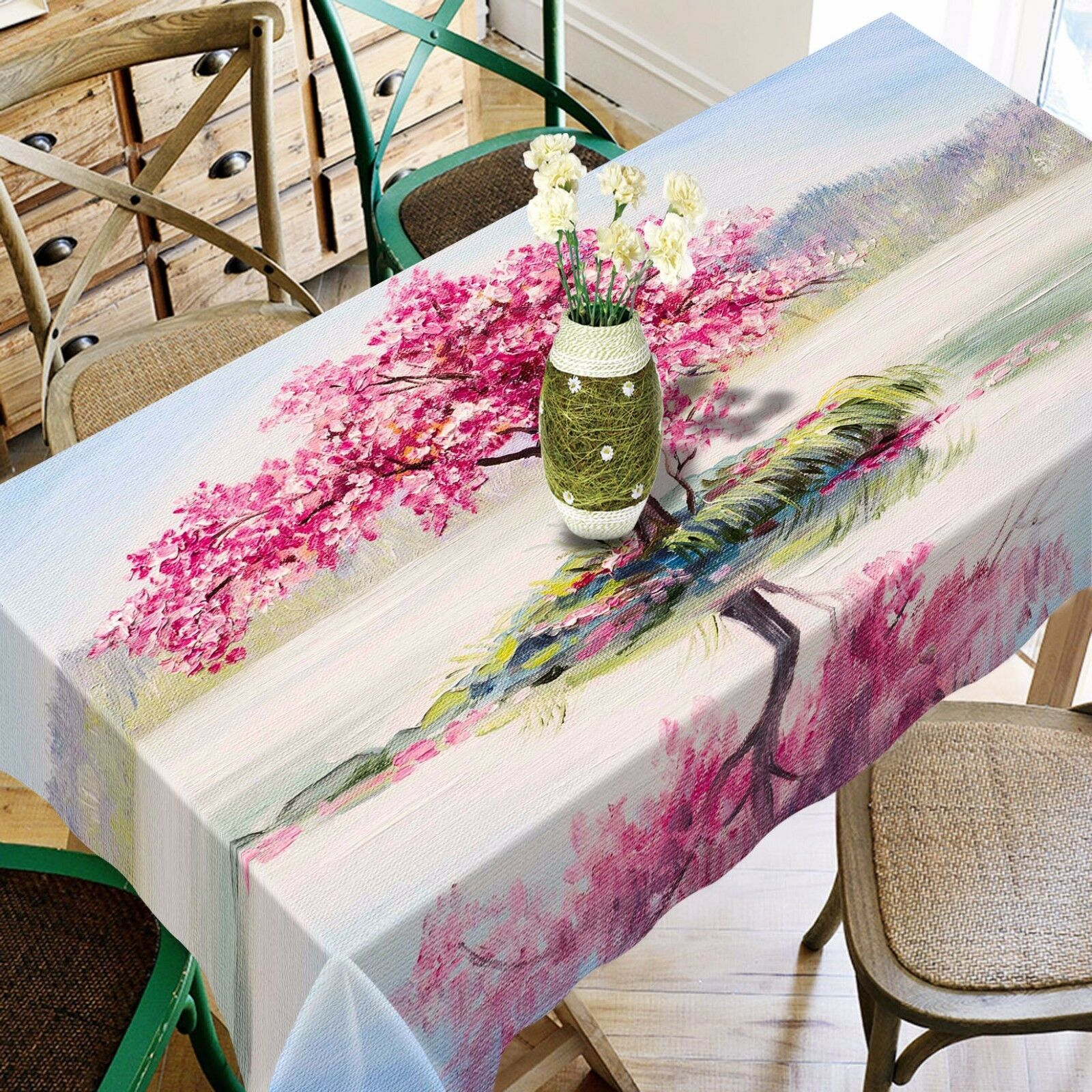 3D Squid Squid Squid Lake Tablecloth Table Cover Cloth Birthday Party AJ WALLPAPER UK Lemon 203286