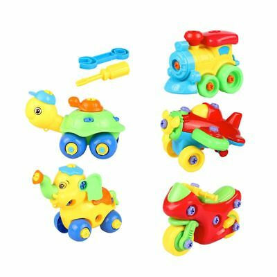 Nut Assembling Kids//Baby Disassembly 3D Puzzle Toys Early Learning Education