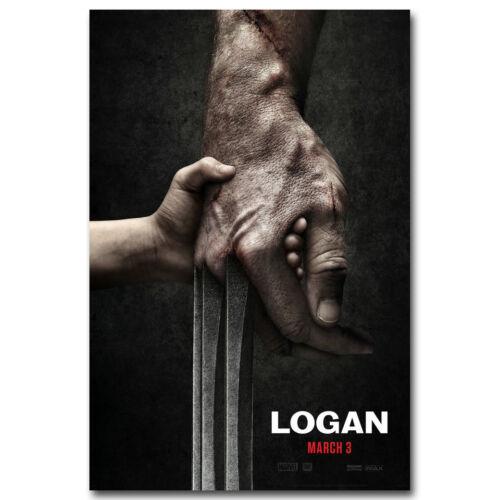 MARVEL Movie Wolverine 3 Logan Superheroes Silk Poster 13x20 24x36 inch