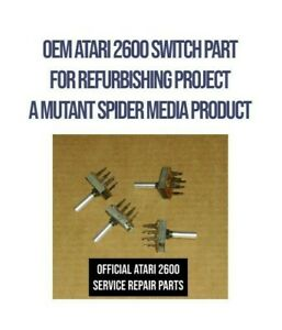 OEM Atari 2600 Switch part (Power On/Off - BW/Color - Difficulty) PLUS BONUS!