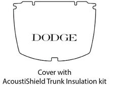 1937 1939 Dodge Sedan Car Trunk Rubber Floor Mat Cover with ME-100 Dodge