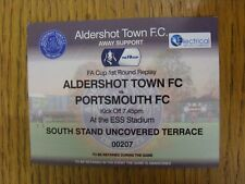 19/11/2014 Ticket: Aldershot Town v Portsmouth [FA Cup Replay] (Grey Away Ticket