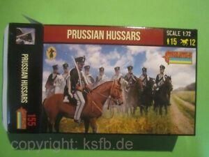NEU-1-72-Strelets-155-Napoleon-Preussen-Husaren-Prussian-Hussars-Kavallerie