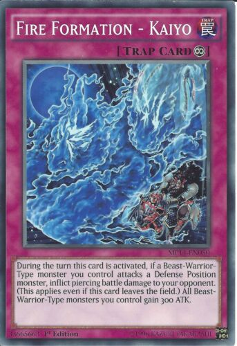 YU-GI-OH KAIYO FIRE FORMATION MP14-EN050-1st EDITION