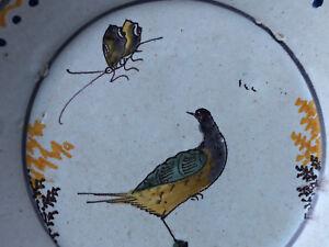Assiette Faience Régionale Polychrome Earthenware antique french Nevers 5gm521Gz-07215034-373162805