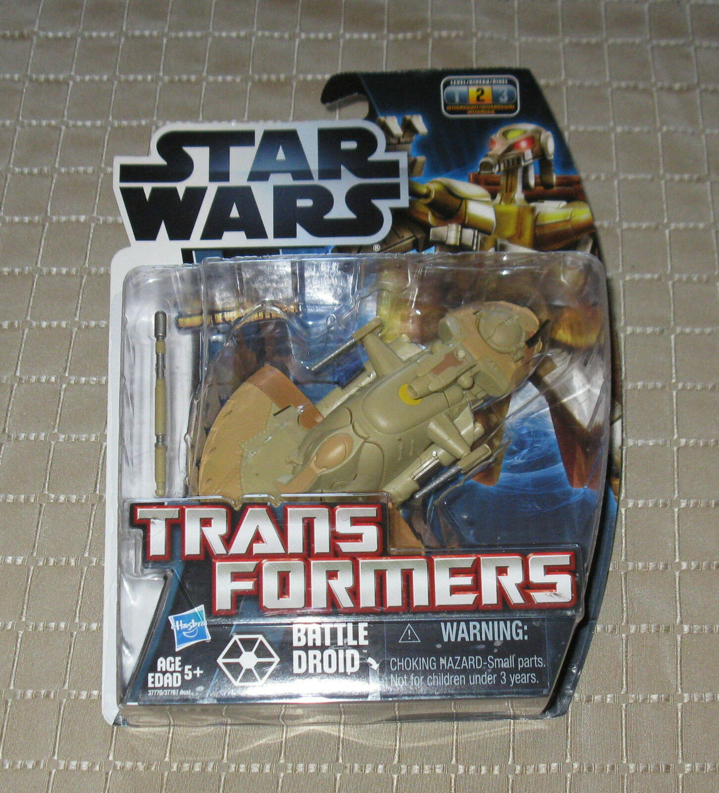 Star Wars   Transformers Credvers Battle Droid Commander AAT MB FREE SHIPPING