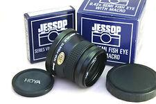 JESSOPS 0.42X SEMI-FISHEYE ATTACHMENT LENS (SER-VII 52MM threaded). Retail Box.