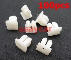 50 x Fits Honda Toyota Mazda For Nissan #10 Screw Size Grommet Nut Clip 13*13mm