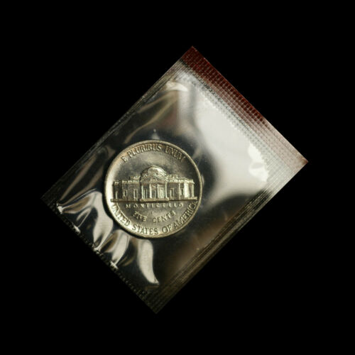 2001 D Jefferson Nickel  ~ Uncirculated Coin in the Original Mint Cello