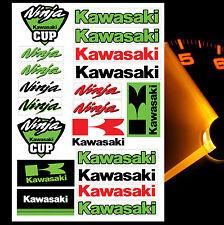 21 KAWASAKI NINJA AUFKLEBER STICKER BLATT RACING MOTORRAD RENNSPORT TUNING D 29