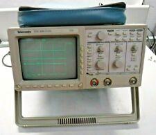 Tektronix Tds 320 100mhz Digital Real Time 2ch Oscilloscope Withdpu 411 Printer