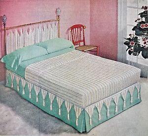Image Is Loading Vintage 1950s 50s AD Mid Century Modern Bedroom