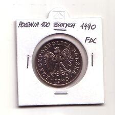 Polonia   Polska   100 zlotych  1990         FDC       (m1072)