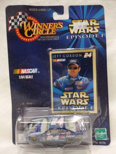 Hasbro Winners Circle Jeff Gordon 1:64 Scale Star Wars Episode 1 F6