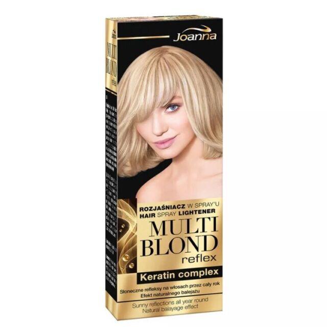 2x Joanna Multi Blond Hair Reflex Keratin Complex Spray Lightener