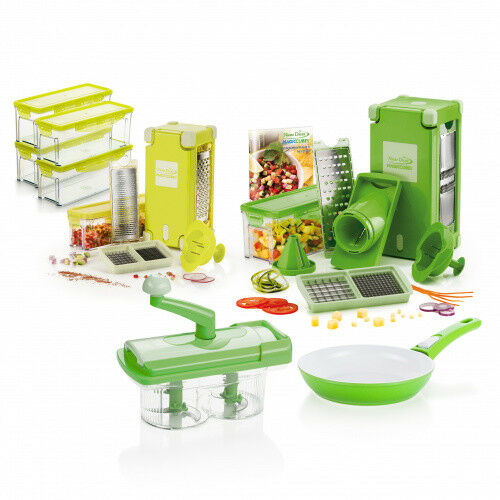 Genius   Nicer Dicer Magic Cube Deluxe Set   37tlg.   fruits et légumes Schneider