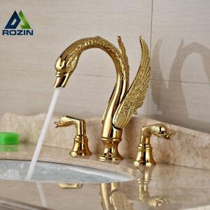 Soild Copper Gold Finish Bathroom