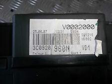 2007 VW PASSAT B6 1.9 TDI BXE INSTRUMENT CLUSTER SPEEDO METER 3C0920960N