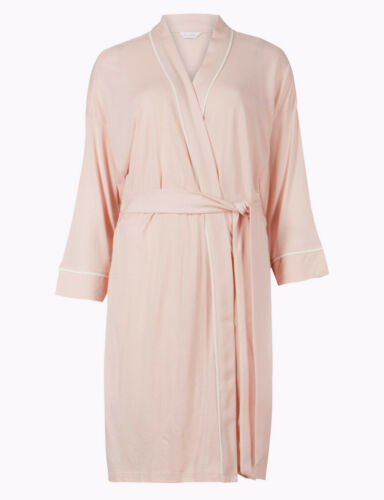 BNWT Marks /& Spencer robe Wrap Vestaglia Matrimonio Rosa Damigella D/'onore UK 20//22
