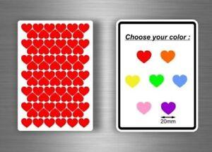Lot-72x-Sticker-Stickers-Scrapbooking-Scrapbook-DIY-Map-Heart