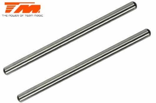 Gelenkachsen Stahl 4x68.8mm für vorne un Team Magic Ersatzteil M8JS//JR//B8ER