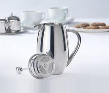 S Steel Double Wall Insulated Coffee Press Plunger Maker Cafetiere Filter 800ml