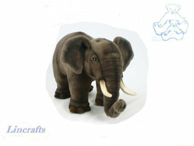 Hansa Asian Elephant 3481 Plush Soft Toy Sold by Lincrafts Established 1993