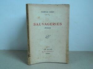 Isabelle Sandy Cosa Selvaggia Poesie Casa Del Divano Rivista Letteraria 1924