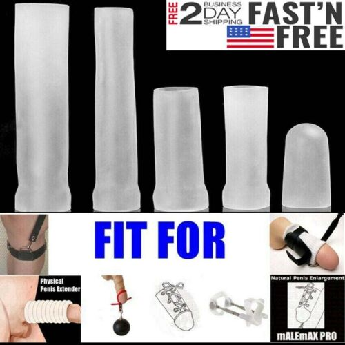 Silicone-Sleeve-Penis-Enlarge-Stretcher-Pump-ADS-Enlargement-AntiTurtle-Jelqing