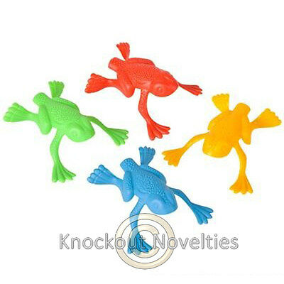 144 Jumping Frogs Fun Funny Novelty Vending Toy Carnival Prize