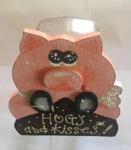 Hogs And Kisses Candystorage Jar