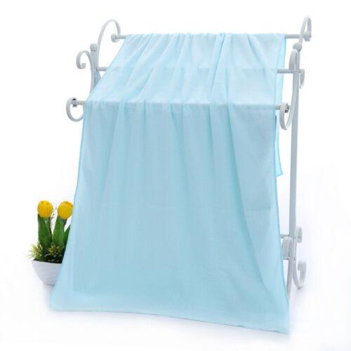 70x140cm Quick Dry Microfiber Beach Towel Bath Towel Sports Extra Large Cloth US